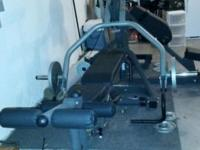 LIKE NEW FULL EXERCISE MACHINE.....SALE FOR