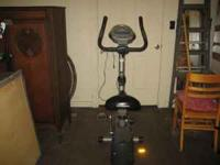 GREAT SHAPE SCHWINN EXERCISE BIKE CALL  Location: