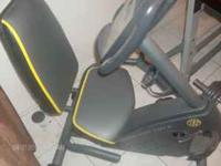 Recumbent bike for cheap!!! Golds gym power spin 230 R