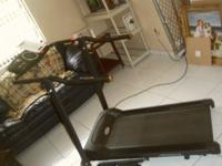Exerpeutic TF1000 Walk to Fitness Electric Treadmill -