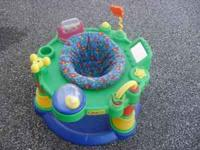 Exersaucer for sale. Asking $20 or best offer. Call or