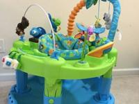 This is a wonderful sit-in play saucer with an