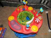 I have an Evenflo ExerSaucer Delux Active Learning