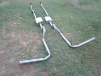 FOR SALE: Thrush Turbo Mufflers with exhaust pipe.