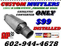 EXHAUST & MUFFLERS Here at Custom Mufflers, our passion