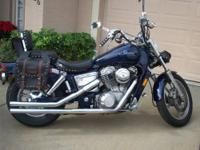 I just bought a 1990 Honda Shadow VT1100C and it came