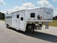 Showtime Trailers 2014 Exiss 8 wide, 4 horse, mangers,