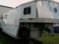4 horse gooseneck trailer with cowboy weekend package.