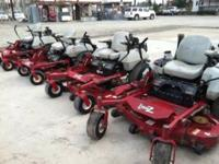 THERE ARE 4 MOWERS FOR SALE!! SELL INDIVIDUALLY OR ALL