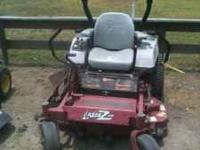 "EXMARK LAZER 48"" RUNS GOOD ASKING $1500 CALL TODD"
