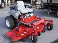 2005 exmark lazer Z mower, with 430 hour, 22 hp kohle