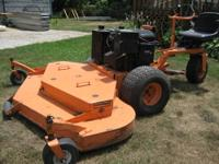 "Exmark Lazer commercial zero turn mower , 72"" deck ,"
