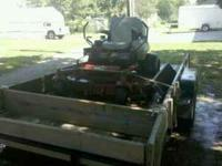 Ive got a exmark commercial mower for sale is got 61