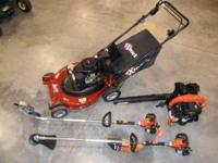 New eXmark 26in Self Propelled mower Echo Trimmer Echo