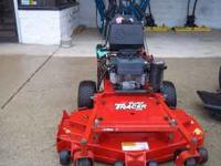"Exmark Turf Tracer with Sulky 48"" Deck 19HP Kawasaki"