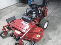 I have a like new Turf Tracer HP 48 in. cut, with 16