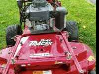 exmark walk behind commercial mower, 17hp kawasaki