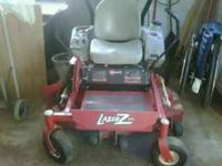 "Exmark Zero-Turn Mower 48"" Deck 32 HOURS!!!!! --- Never"