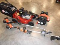 New eXmark 21in Self Propelled Mower Echo Trimmer Echo
