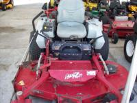 "EXMARK XS ZERO TURN HYDRO MOWER WITH A 66"" DECK. THIS"