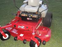 You are looking at eXmarks commercial zero turn mower.