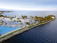 This expansive waterfront home at Ocean Reef features a