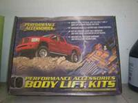"3"" 1998 expedition body lift kit new never used. call"