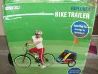 Explorer Double seat Bike Trailer valued at over