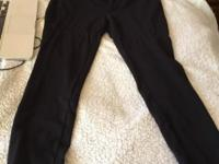 Womens Express fitted zipper pants Size medium This ad