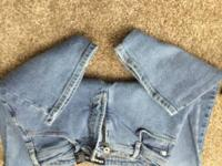 Express jeans.  No wear.  Size 7/8