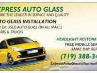 Express Auto Glass offers full service and support: New