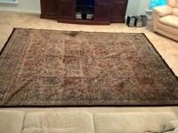 GORGEOUS KASHMIR 100% WOOL MULTI COLORED CARPET