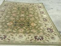 EXQUISITE HAND KNOTTED CARVED CHINESE AUBUSSON WOOL RUG