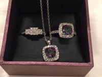 Offering my partner's anniversary ring, birthstone & &