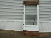 "These 1 1/4"" thick aluminum frame doors with sturdy"
