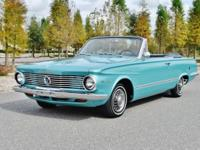 Beautiful Fully Restored 1964 Plymouth Valiant Signet