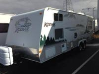 Hi! We are selling our 2007 kodiak 26qs travel trailer.
