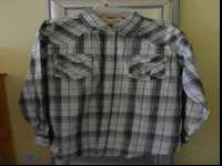 Brand New. Extra large Western Style - snap up shirt. 2