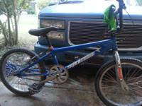 "I have a very well kept 20""bmx bike with lots of"