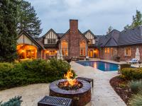 This Extraordinary, custom estate is situated in a