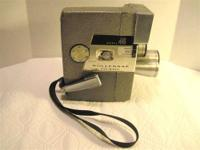 Vintage 8mm Movie Camera Made in the USA before we were