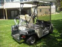 I have an older EZ Go 36 volt electric golf cart with