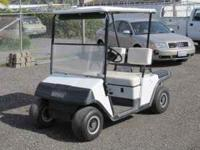EZ GO Electric Golf Cart w/Charger --Will be auctioned