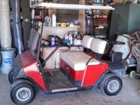 For sale is a EZ GO Golf Cart.  It is in excellent