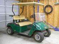 EZ-GO Electric Golf Cart. New trojan batteries last