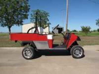 EZ-GO golf cart. Limited Edition gas. Call:  Location: