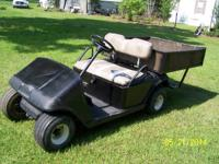 This is a basic no frills work golf cart that has good