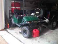2001 EZ GO golf cart 36 volt txt with charger. This