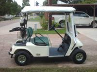 Freedom PDS EZ-Go Golf Cart, electric with speed chip.