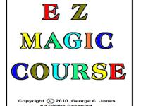 Complete magic course on CD. If the magic effects on